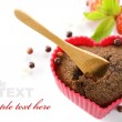 Heart shape muffin — Stock Photo #3125676