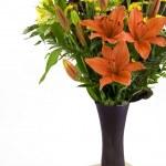 Flowers in vase — Stock Photo #3175298
