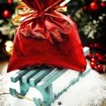 Kerstmis samenstelling — Stockfoto
