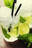 Mojito cocktail — Stock Photo