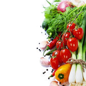 Fresh vegetables — 图库照片