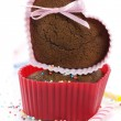 Heart shape muffins — Stock Photo #3274276