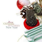 Christmas composition — Foto Stock