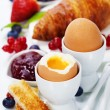 Stock Photo: Delicious breakfast