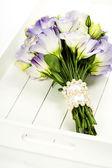 Eustoma bellissimo mazzo di fiori — Foto Stock