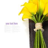 Beautiful Calla Lilly Bouquet — Stock Photo