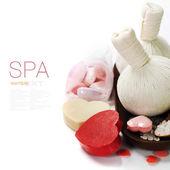 Bad en wellness valentine thema — Stockfoto