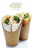 Tortilla saran — Stok fotoğraf