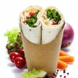 Stock Photo: Tortillwraps