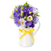 Eustoma beau bouquet de fleurs — Photo