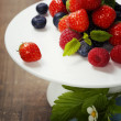 Stock Photo: Assorted berries