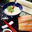 Sushi ingredients — Stock Photo #42340637