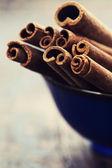 Bunch of cinnamon sticks — Stock Photo