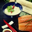 Sushi ingredients — Stock Photo #45063091