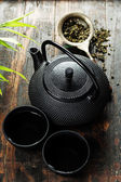 Image of traditional eastern teapot and teacups  — Stockfoto