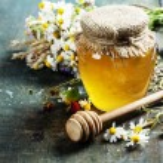 Honey and Herbal tea — Stock Photo #48407199