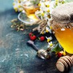 Honey and Herbal tea — Stock Photo #48407203
