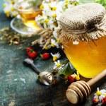 Honey and Herbal tea — Stock Photo #49257409
