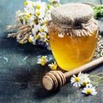 Honey and Herbal tea — Stock Photo #49257423