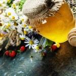 Honey and Herbal tea — Stock Photo #51176545
