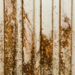 Stock Photo: Old rusty cracked metallic background.