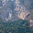 Cliff in Thailand as background. — Photo