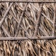 Thatch roof for traditional house in Asia. Background photo. - Stock Photo
