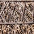 Thatch roof for traditional house in Asia. Background photo. — Stock Photo