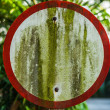 Old grunge road sign. — Stock Photo