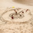 Sand Castle on the Beach — Stock Photo #23591607