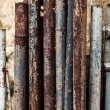 Stock Photo: Rust pipe