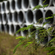 Stock Photo: Drainage pipes