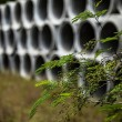 Drainage pipes — Stock Photo #23593931