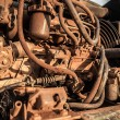 Stock Photo: Old engine