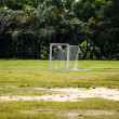 Football pitch - Stock Photo