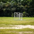 Football pitch — Stock Photo