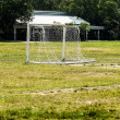 Stock Photo: Football pitch