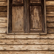 Picture of an old rural house with window - Stock Photo