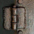 Royalty-Free Stock Photo: Old hinge. Close up photo