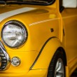 Classic yellow Mini — Stock Photo