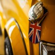 Royalty-Free Stock Photo: Classic yellow Mini
