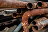 Rust pipe — Stock Photo