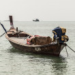 A little fishing boat - Stock Photo