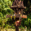 Traditional ritual places. Thailand. - Stock Photo