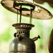 Old oil lamp outdoor. — Stock Photo