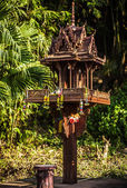 Traditionella rituella platser. thailand. — Stockfoto