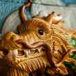Dragon statue - Stock Photo