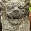 Traditional stone asian statue. — Stock Photo