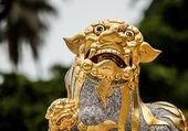 Ancient traditional stone figurine. — Stock Photo