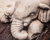 Elephant Carvings — Stock Photo